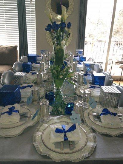 centrepiece, blue, flower arranging, flower, floristry,