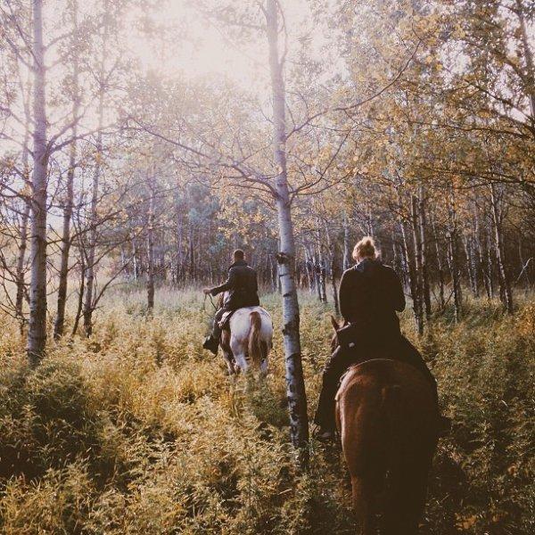 Horseback Riding = 70 Minutes
