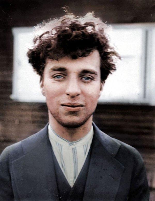 Charlie Chaplin in 1916