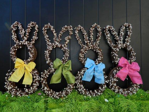 Bunny Twig Wreath