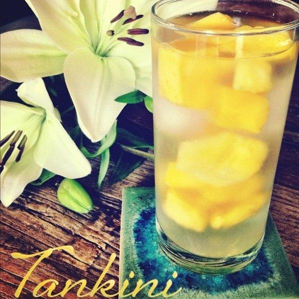Frozen Mango Infused Water