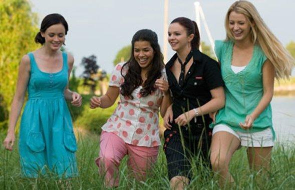 Lena, Tibby, Bridget, Carmen, and Company