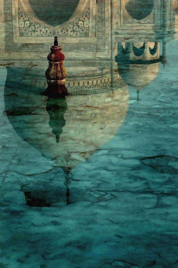 blue,reflection,art,screenshot,sea,