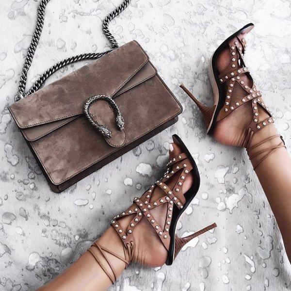 footwear, brown, leg, fashion accessory, leather,