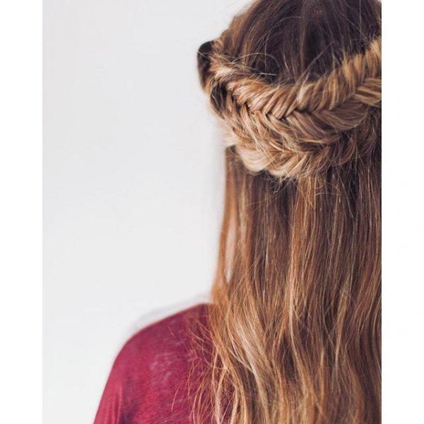 hair, hairstyle, braid, long hair, brown hair,