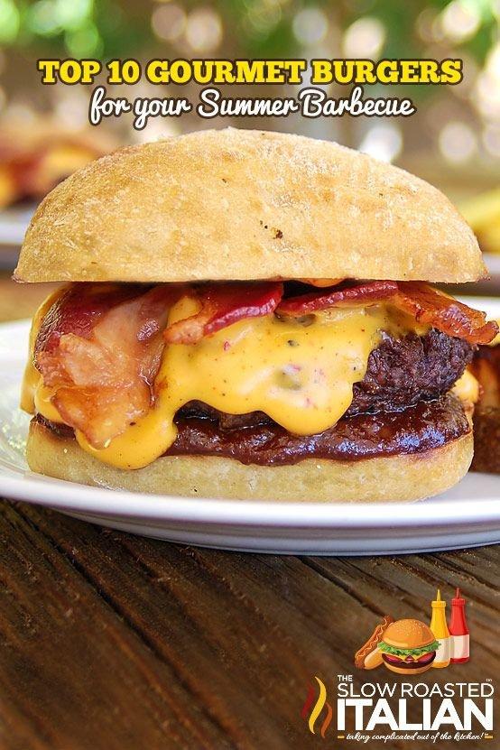 Bacon Beer Cheddar Barbecue Burger