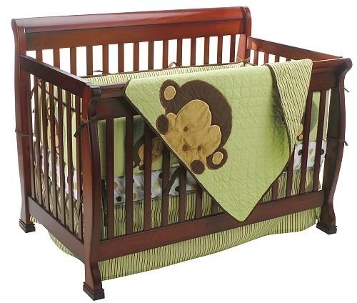Mod Pod Pop Monkey 4 Piece Crib Bedding Set 7 Great