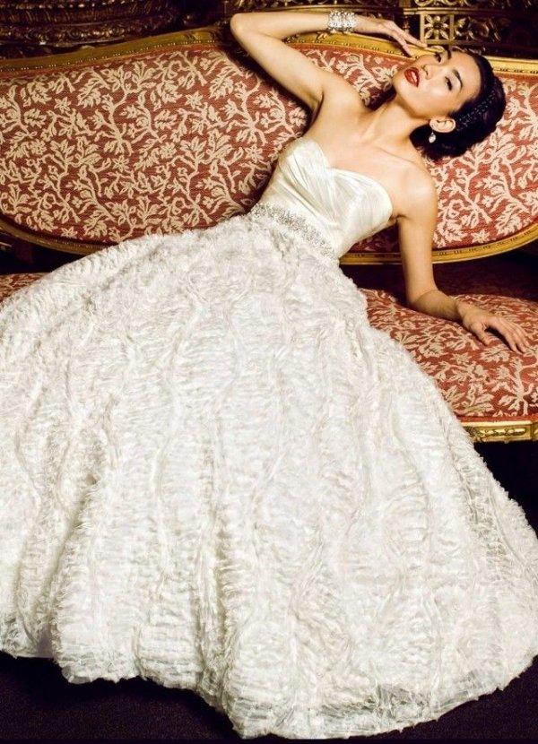 White Bridal Gown