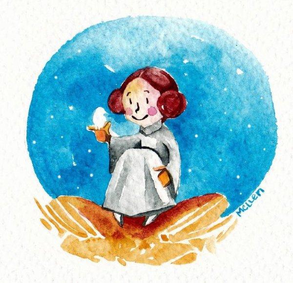 snowman, illustration,