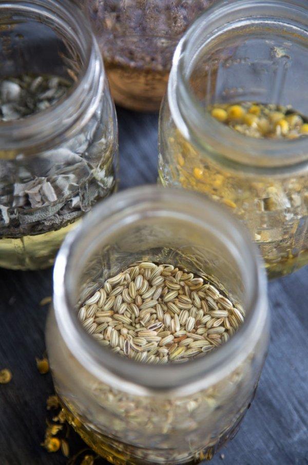 Five Herbal Teas