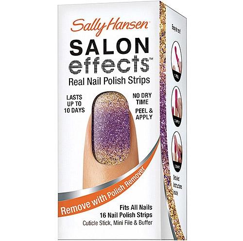 Sally Hansen Salon Effects Nail Strips in the Bold Rush
