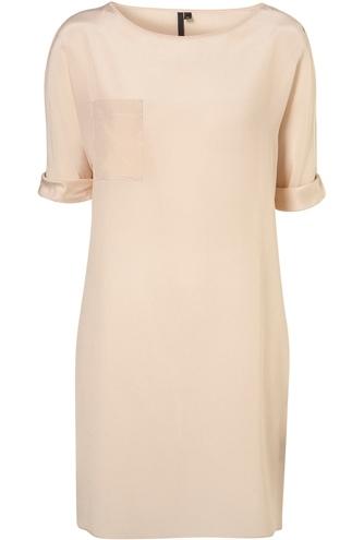 Topshop Pocket Silk Dress
