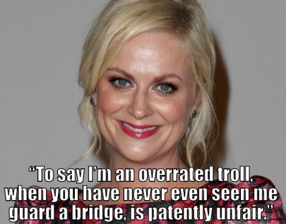 Troll? Pssh!
