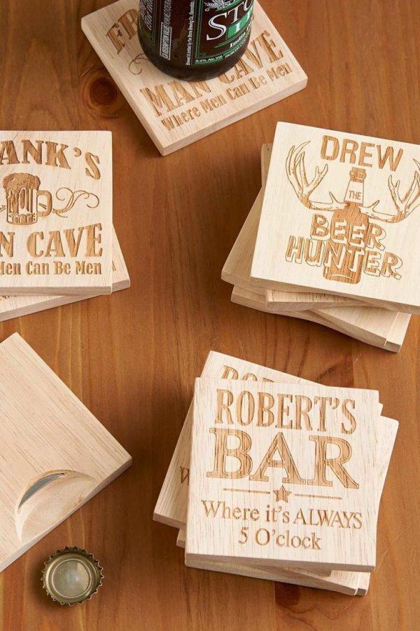 wood, label, brand, wedding favors, calligraphy,