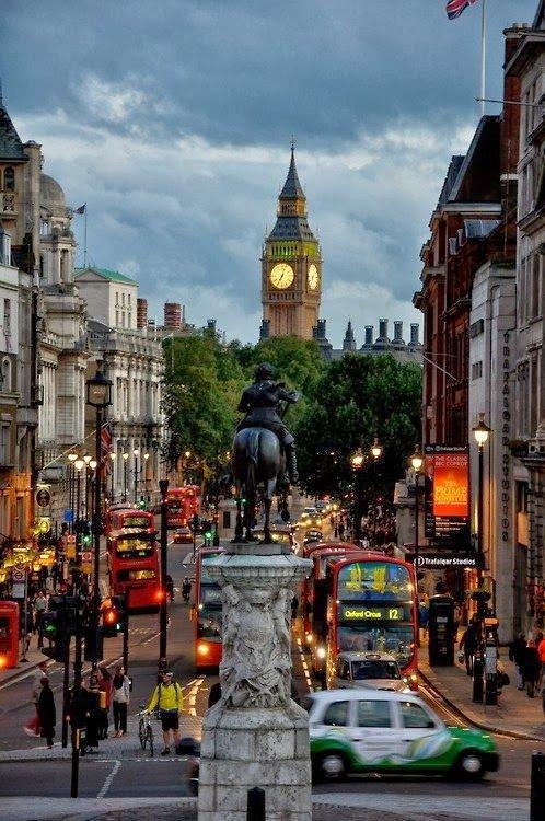 Big Ben, from Trafalgar Square,Big Ben,metropolis,road,town,