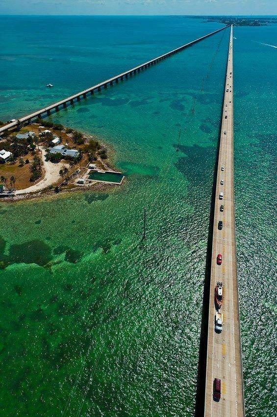 Seven Mile Bridge, Florida, USA