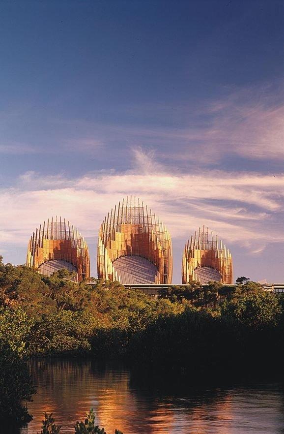 Jean-Marie Tjibaou Cultural Center, Noumea, New Caledonia