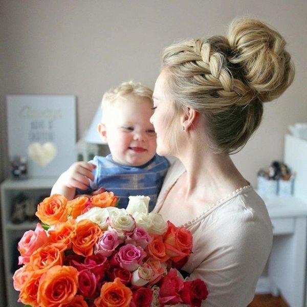 hair, bride, woman, hairstyle, flower,