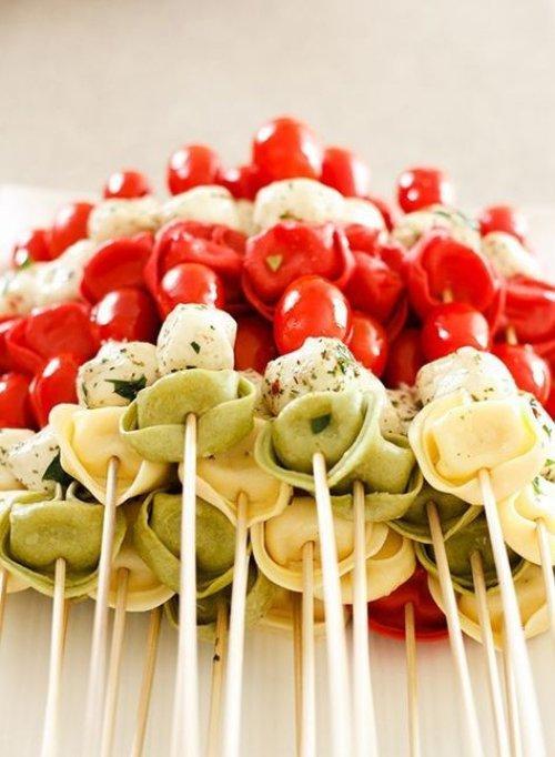 food, appetizer, cuisine, dish, brochette,
