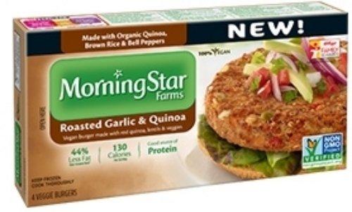 Morningstar Farms Roasted Garlic And Quinoa Burger