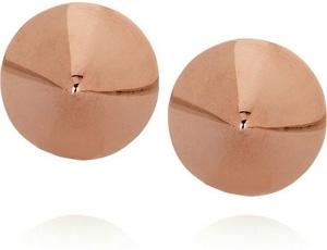 Eddie Borgo Rose Gold Plated Cone Stud Earrings