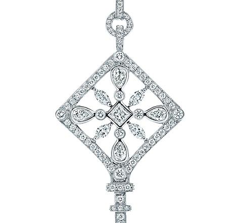 Tiffany Keys Kaleidoscope Key Pendant