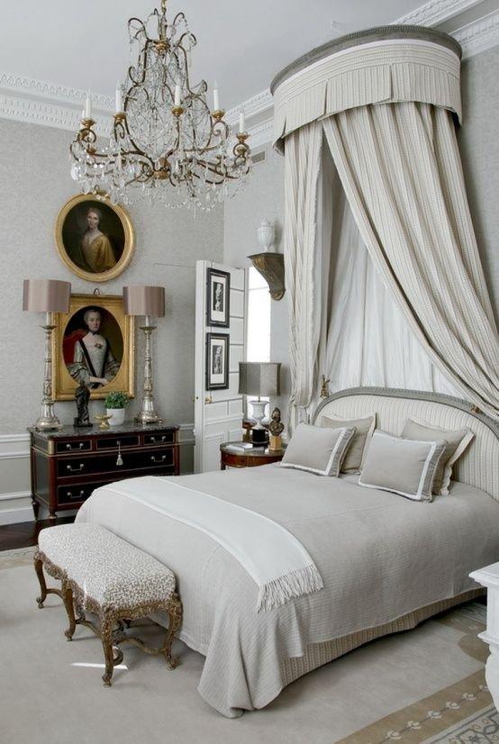 Elegant French Inspired Bedroom