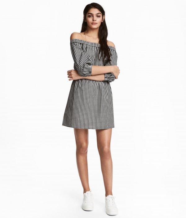 clothing, day dress, sleeve, pattern, dress,