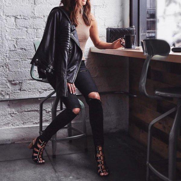 black, clothing, footwear, lady, tights,