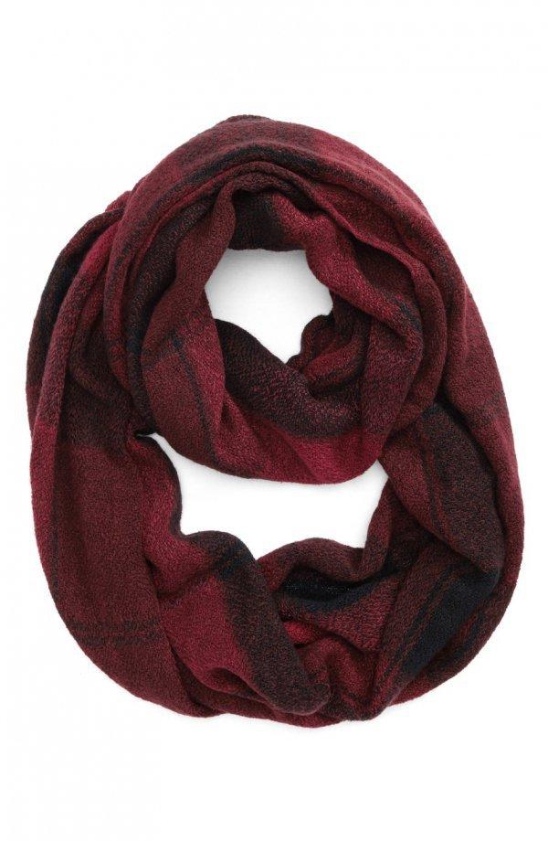 scarf, magenta, stole,