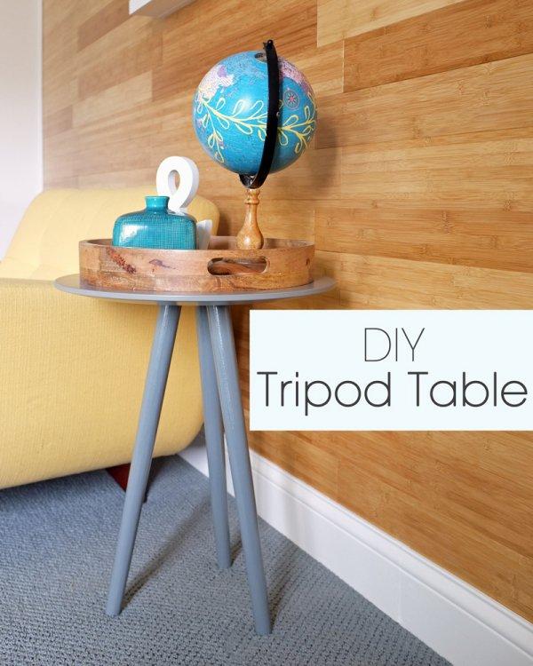 A Charming Tripod Table