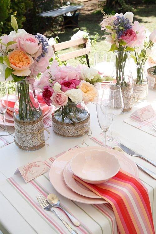 Pink Garden Lunch