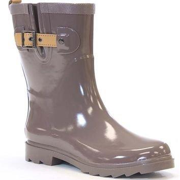 Chooka Women's Shiny Mid-Calf Rain Boots