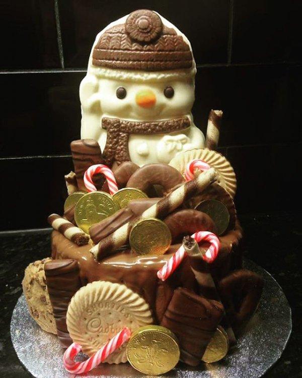 food, dessert, christmas decoration, cake, christmas,