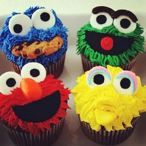 Sesame Street St Birthday Cake