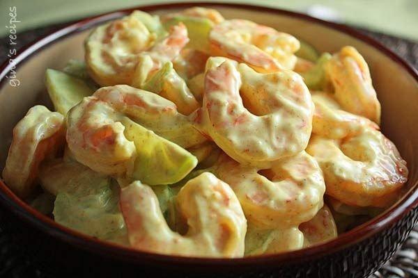 Creamy Shrimp and Celery Salad