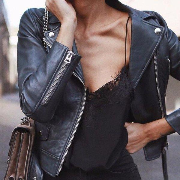 fashion model, shoulder, leather, leather jacket, fashion,