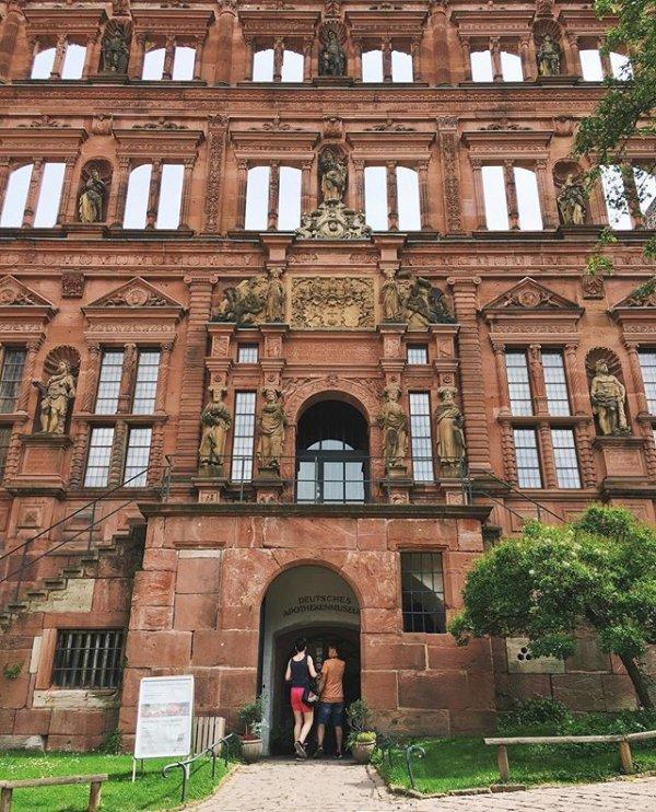 Heidelberg Castle, house, structure, architecture, tourism,