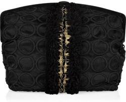 Marni Oversized Embellished Clutch