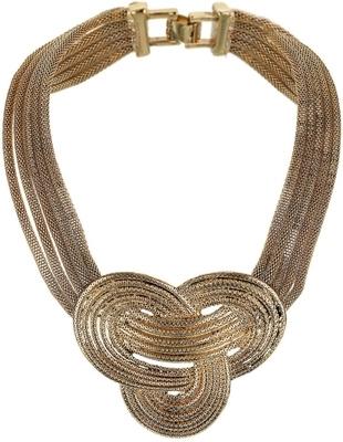 Topshop Knott Collar Necklace