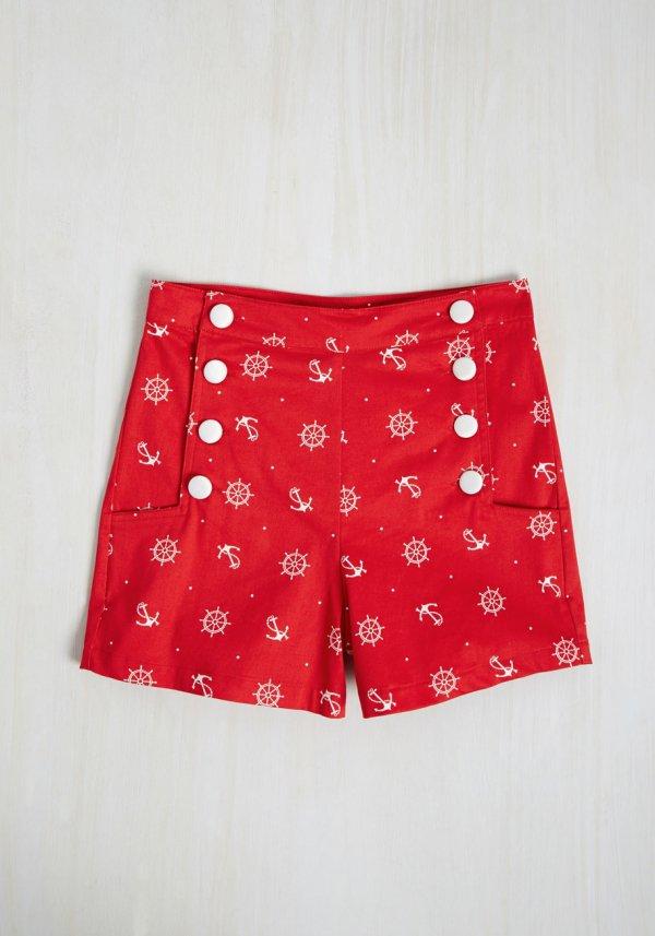 clothing, red, trunks, pattern, polka dot,