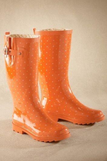 Dotty Gum Boots