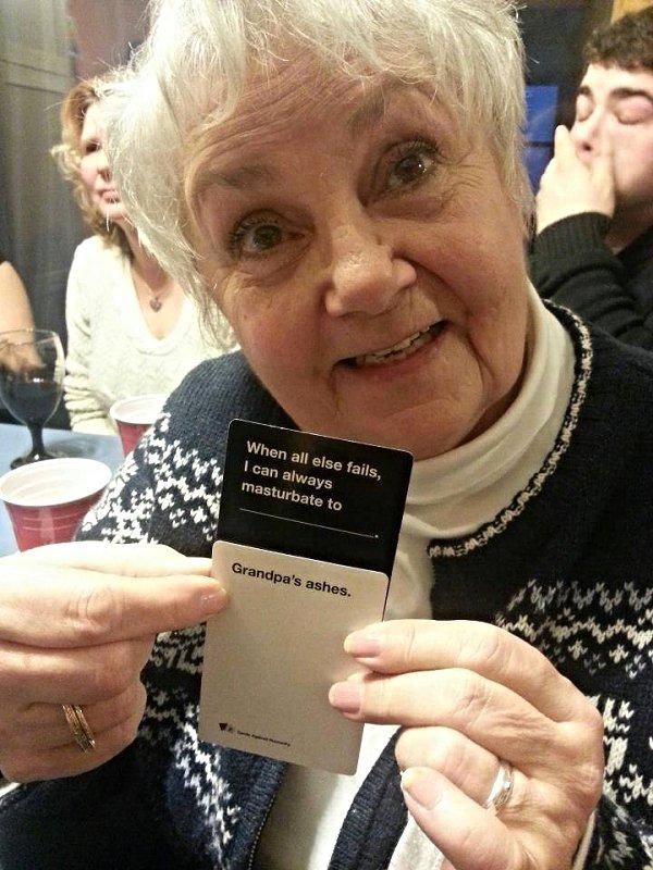 Grandma Wins