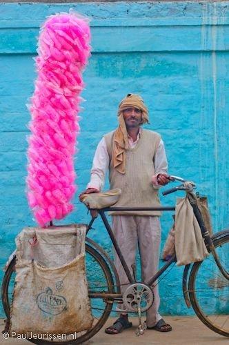 Cotton Candy Vendor