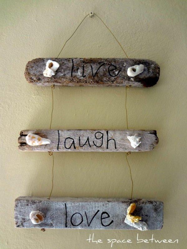 Driftwood Sign