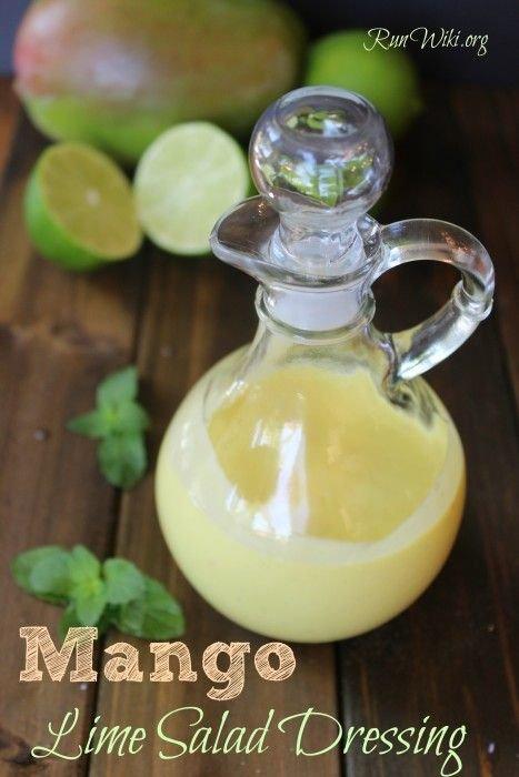 Mango Lime Salad Dressing