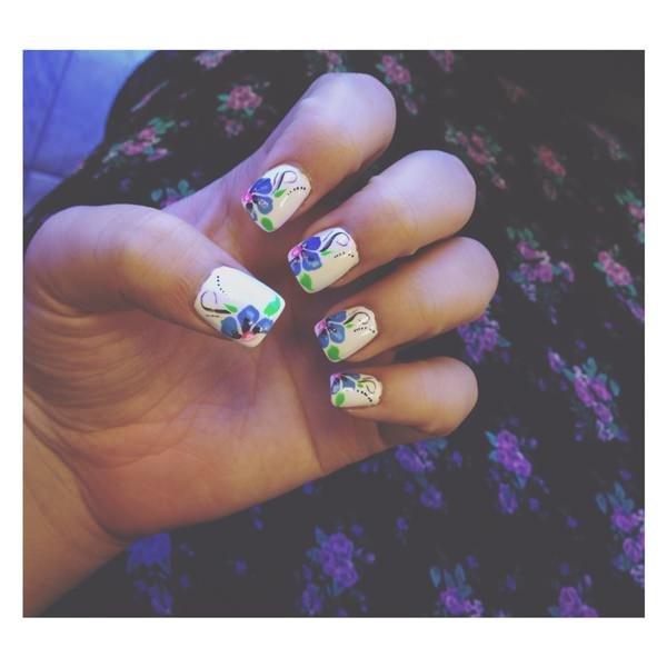 finger, nail, violet, purple, nail care,