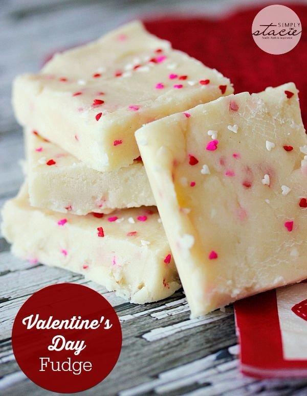 Valentine's Day Fudge
