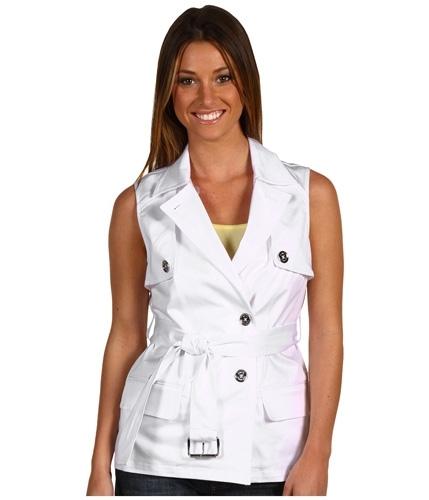 Michael by Michael Kors Sleeveless Trench Coat
