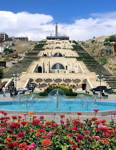 Yerevan Cascade,landmark,archaeological site,vacation,tourism,